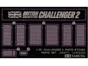 TAMIYA 35277 - 1:35 Challenger 2 Photo-Etched Part Set