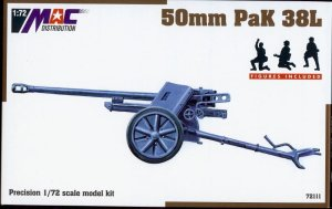 MAC 72111 - 1:72 50 mm PaK 38L - figures included