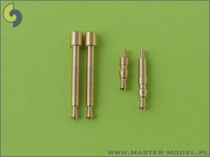MASTER AM-32-005 - 1:32 Bf 109 E3 - E9, T armament set (MG 17 tips, MG FF barrels)