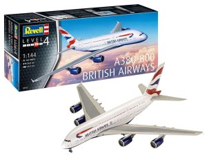 REVELL 03922 - 1:144 Airbus A380-800 British Airlines