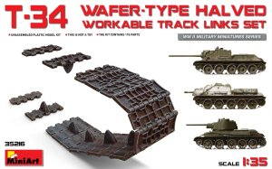 MINIART 35216 - 1:35 T-34 Wafer-type workable Track Links Set