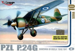 MIRAGE 48108 - 1:48 PZL P.24G Lotnictwo Greckie