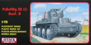 ATTACK 72808 - 1:72 PzBefWg 38(t) Ausf. B