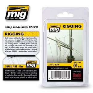AMMO MIG 8016 - Rigging - Super Fine 0.01 mm