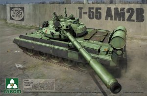 TAKOM 2057 - 1:35 T-55 AM2B DDR Medium Tank