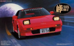 Fujimi 045948 - 1:24 Tohge-04 Toyota MR2 AW11 Super