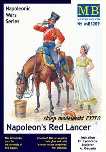 MASTER BOX 3209 - 1:32 Napoleons Red Lancer - Napoleonic Wars Series
