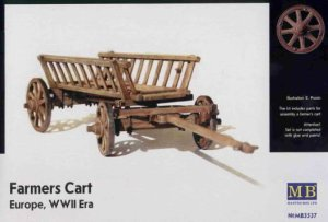 MASTER BOX 3537 - 1:35 Farmers Cart, Europe, WWII Era