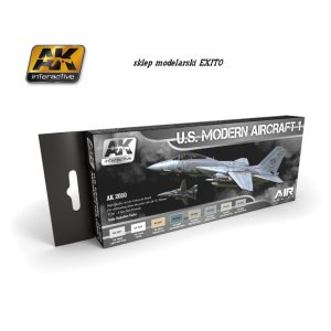 AK INTERACTIVE 2050 - US Modern Aircraft Set 1 - Air Series