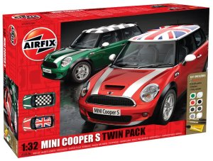 AIRFIX 50126 - 1:32 Mini Cooper S - Twin Pack