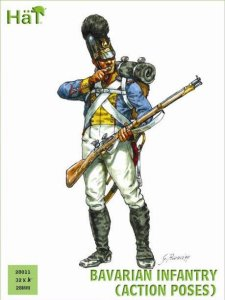 HAT 28011 - 28 mm - Bavarian Infantry (Action poses)