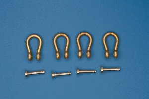 RB MODEL 10374A - 1:35 Shackles - type A (4 pcs)