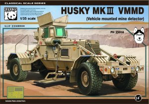 PANDA 35014 - 1:35 Husky Mk III Vehicle Mounted Mine Detector