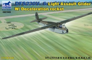 BRONCO GB 7009 - 1:72 DFS230V-6 Light Assault Glider w/Deceleration Rocket