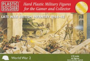 PLASTIC SOLDIER 20002 - 1:72 Late War British Infantry 1944-45