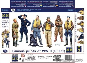 MASTER BOX 3201 - 1:32 WW II Aircraft Aces