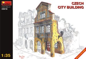 MINIART 35018 - 1:35 Czech City Building