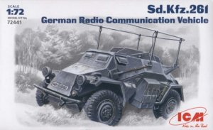 ICM 72441 - 1:72 Sd.Kfz.261, German Radio Communication Vehicle