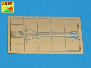 ABER 72A11 - 1:72 Side skirts for Sturmgeschutz III (Early model)