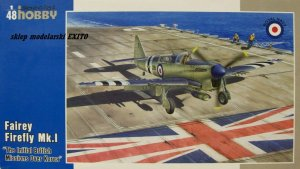 SPECIAL HOBBY 48145 - 1:48 Fairey Firefly Mk.I - The Initial British Missions Over Korea