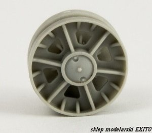 PANZERART 35257 - 1:35 Road Wheels KV-I/II (Cast Pattern)