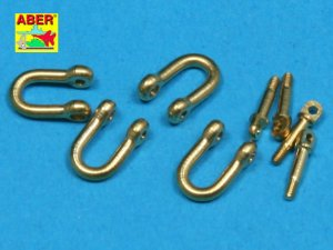 ABER R-13  - 1:35 Late model shackle for Pz.Kpfw.VI Tiger Ausf B