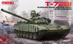 MENG MODEL TS033 - 1:35 Russian Main Battle Tank T-72B1