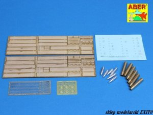 ABER 16057 - 1:16 Two transport box with six different 7,5 cm ammo for Pz.Kpfw.IV Ausf.H-J