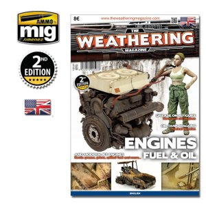 AMMO MIG 4503 - The Weathering Magazine - Engines Fuel & Oil (English Version)