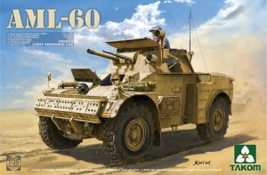 TAKOM 2084 - 1:35 AML-60 French Light Armoured Car