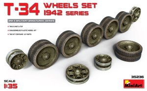 MINIART 35236 - 1:35 T-34 Wheels Set 1942 series