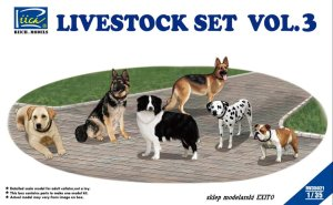 RIICH MODELS 35021 - 1:35 Livestock Set Vol.3