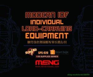 MENG MODEL SPS020 - 1:35 Modern IDF Individual Load-Carrying Equipment