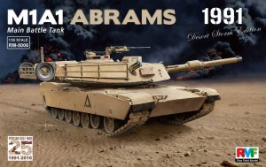 RYE FIELD MODEL 5006 - 1:35 M1A1 Abrams - Gulf War 1991