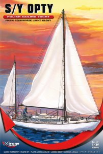 MIRAGE 508002 - 1:50 S/Y Opty - Polish sailing yacht