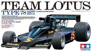TAMIYA 20065 - 1:20 Team Lotus Type 78 1977 w/Photo Etched Parts