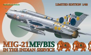 EDUARD 1171 - 1:48 MiG-21MF/BIS in the Indian service