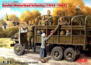 ICM 35635 - 1:35 Soviet Motorized Infantry (1943-1945)