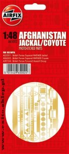 AIRFIX 65002 - 1:48 Afghanistan Jackal / Coyote - Photoetched Parts