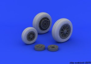 EDUARD 632046 - 1:32 F-104 undercarriage wheels late