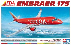 TAMIYA 92197 - 1:100 Embrarer 175 Fuji Dream Airlines