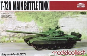 MODELCOLLECT UA72004 - 1:72 T-72A Main Battle Tank