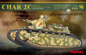 MENG MODEL TS009 - 1:35 Char 2C French Super Heavy Tank