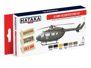 HATAKA AS19 - US Army Helicopters Paint Set