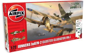 AIRFIX 50179 - 1:72 Junkers Ju 87R-2 & Gloster Gladiator