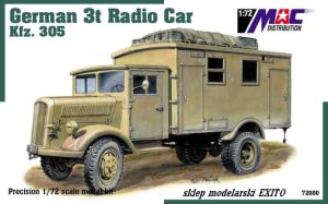 MAC 72080 - 1:72 German 3t Radio Car Kfz.305