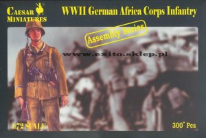 CAESAR MINIATURES 7713 - 1:72 WWII German Africa Corps Infantry