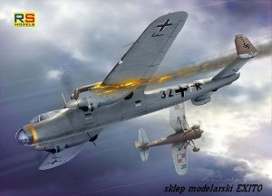 RS MODELS 92071 - 1:72 Dornier Do 17E