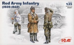 ICM 35051 - 1:35 Red Army Infantry 1939-42