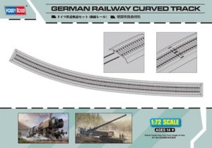 HOBBY BOSS 82910 - 1:72 German Railway Curved Track